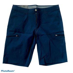 BC Clothing Stretch extensible blue men's short 34